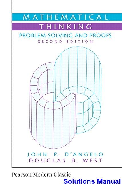 mathematical thinking problem solving and proofs ebook